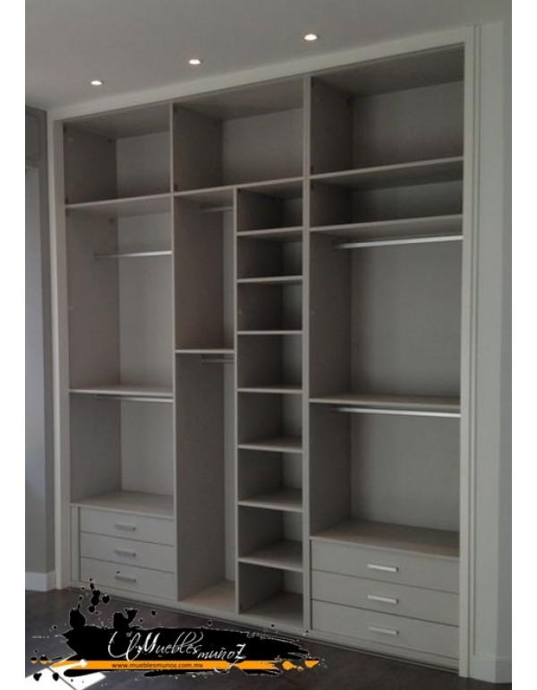 Closet Vestidor Recto